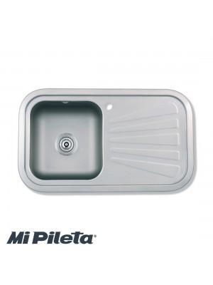 Pileta 402Ef C/Fregadero 78x43 Mi Pileta